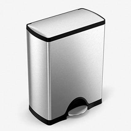 Une poubelle de cuisine 50L compacte et silencieuse