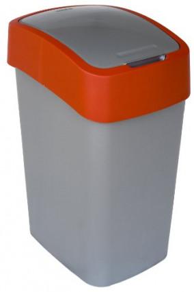 Une poubelle de cuisine qui apporte une touche de couleur