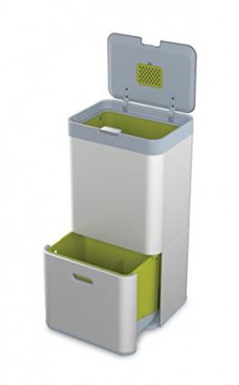 Le modèle haut de gamme, la poubelle de cuisine Joseph Joseph Totem