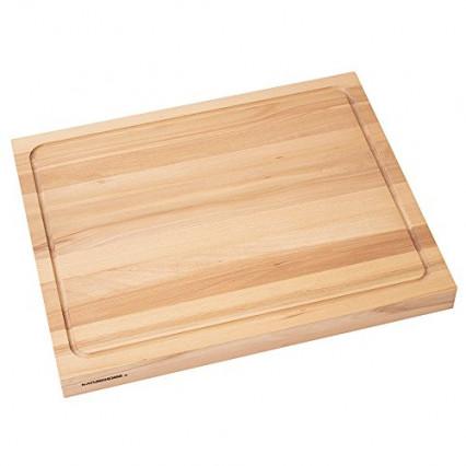 Une planche à découper en bois massif faite main