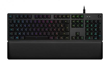 Le clavier rétroéclairé Logitech avec LED qui suivent l'action du jeu