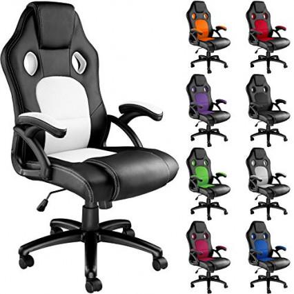 Le fauteuil de gamer le moins cher: la chaise de bureau de TecTake