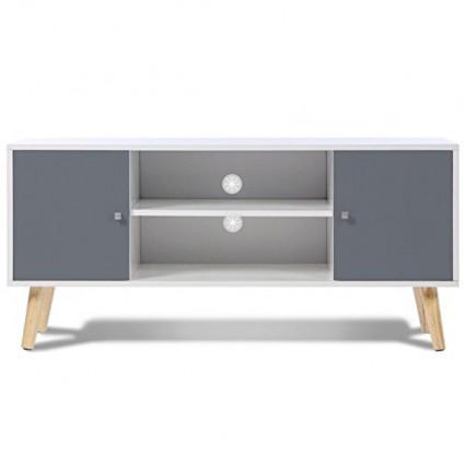 Le meuble TV en bois le moins cher