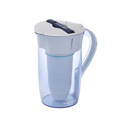 La carafe filtrante en inox façon pichet d'eau