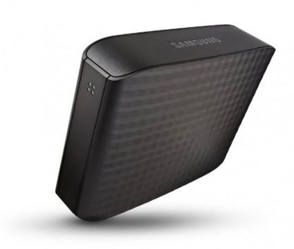 Un disque dur externe Samsung Seagate 3,5 pouces plutôt compact