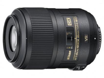 Un objectif reflex Nikon pour les prises de vue en pleine nature