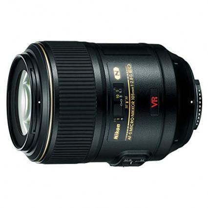 Un objectif pour appareil photo Nikon adapté aux gros plans