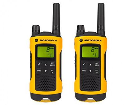 Solidité et qualité: le talkie-walkie professionnel Motorola T80EX