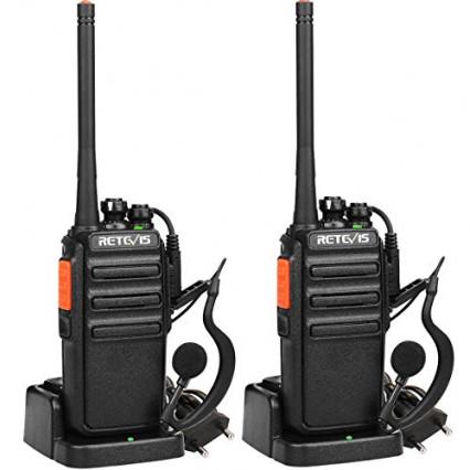 Le talkie-walkie professionnel sans licence RT24 de Retevis: le plus adaptable