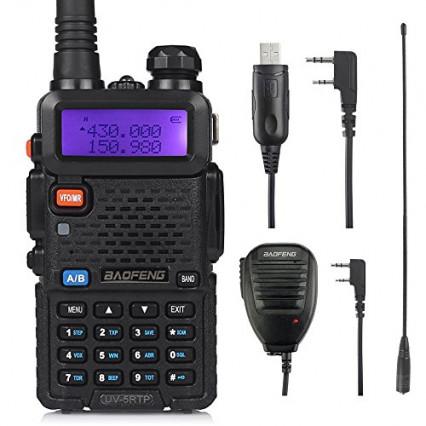 Le talkie-walkie Baofeng UV-5RTP Triple Power: un condensé de puissance