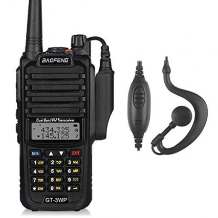 Le talkie-walkie Baofeng GT-3WP: le tout-terrain