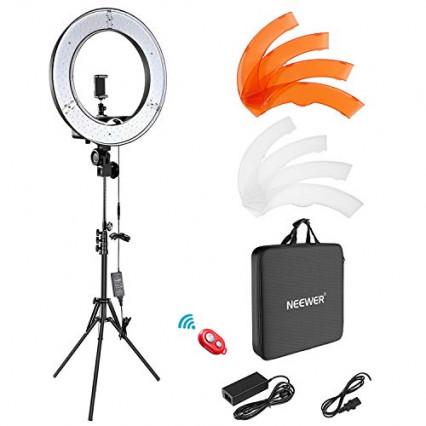 Un éclairage professionnel pour pouvoir filmer à toute heure de la journée