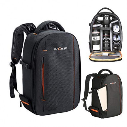Un sac à dos compact afin de pouvoir vous déplacer avec votre matériel