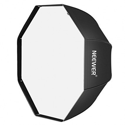 Une softbox octogonale