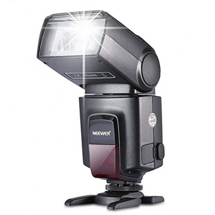 Un flash pour pouvoir photographier en toute condition