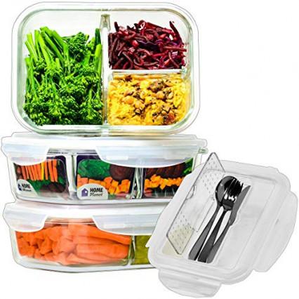 Une lunch box en verre