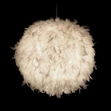 Un lustre texturisé pour habiller le plafond