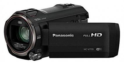 Le Panasonic HC-V770EP-K, la full HD accessible