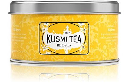 Une boite à thé Kusmi Tea