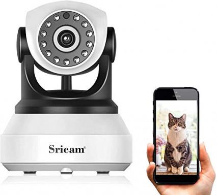 Caméra de surveillance sans fil Sricam SP017, pour avoir un oeil partout