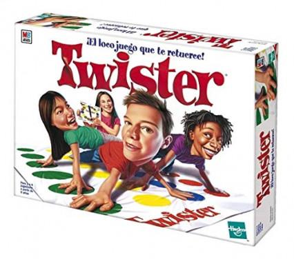 le jeu à jouer à plusieurs : Twister