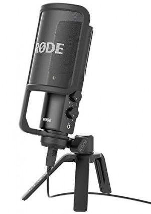 Le Rode NT-USB, le micro de studio polyvalent
