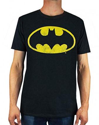 Le t-shirt Batman, pour arborer fièrement le logo du super-héros