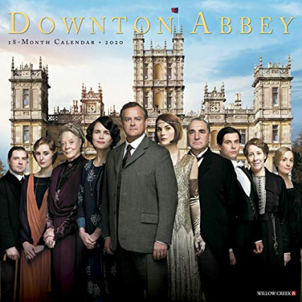 Le calendrier 2020 aux couleurs de Downton Abbey pour vivre au rythme des Crawley