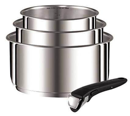 Tefal : la batterie  de cuisine au meilleur rapport qualité prix
