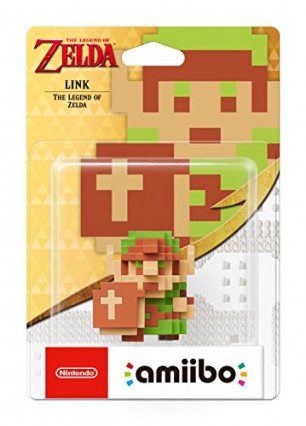 L'amiibo Link Pixel The Legend of Zelda, tout carré et mignon