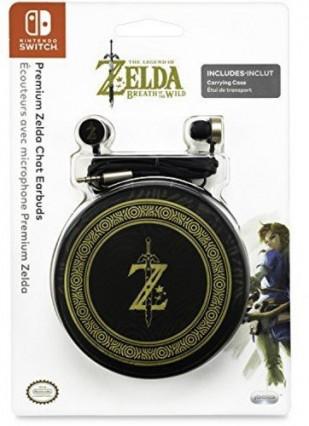 Les écouteurs The Legend of the Zelda : Breath of the Wild de Nintendo