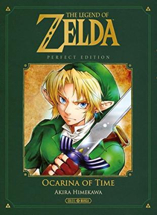 Le manga The Legend of Zelda - Ocarina of Time Perfect Edition chez Soleil