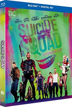 Le blu-ray de Suicide Squad avec le Joker clinquant de Jared Leto