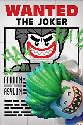 Poster du film LEGO Batman Wanted The Joker