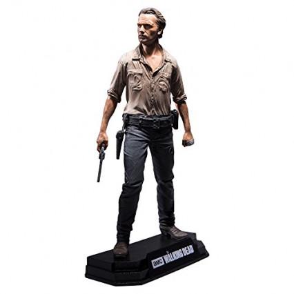 La figurine de collection à l'effigie de Rick Grimes, héros de The Walking Dead