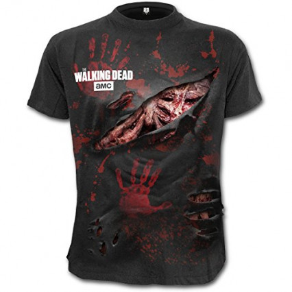 "Un T-shirt ""All Infected"" The Walking Dead"