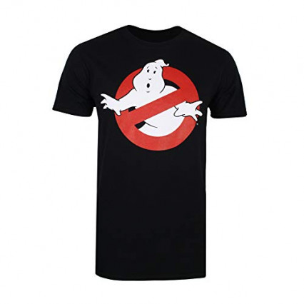 "T-shirt logo ""No ghost allowed"" Ghostbusters"