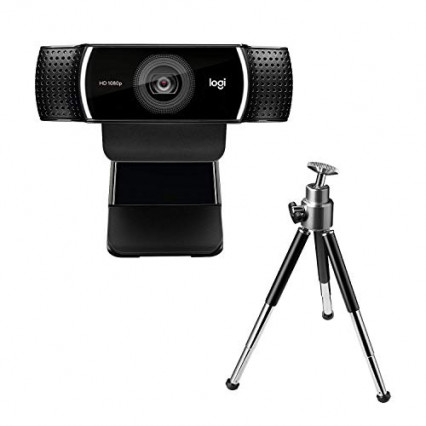 La webcam Logitech C922 Pro Stream avec son trépied