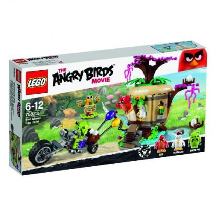 Le set LEGO Angry Birds Le Vol de L'œuf de L'île des Oiseaux