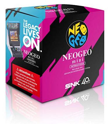 La console Retro Neo Geo Mini International, pour les fans de jeux d'arcade
