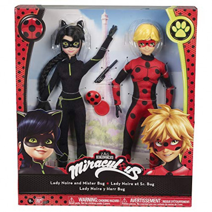 Une poupée Miraculous Ladybug