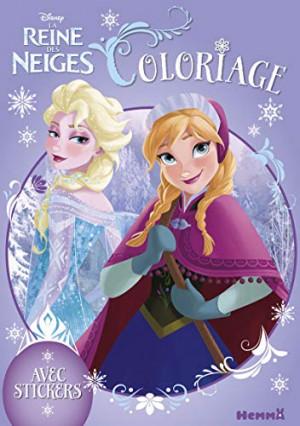 Un livre de coloriage Disney