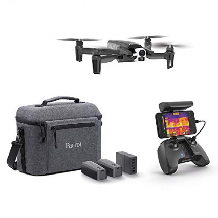 Le drone Parrot Anafi Thermal, avec caméra thermique