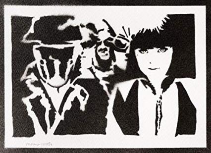 Stencil fait main Watchmen