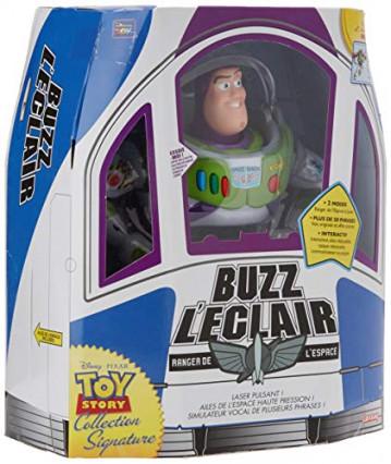 Buzz L'Éclair Signature Collection de Lansay, le même que dans Toy Story