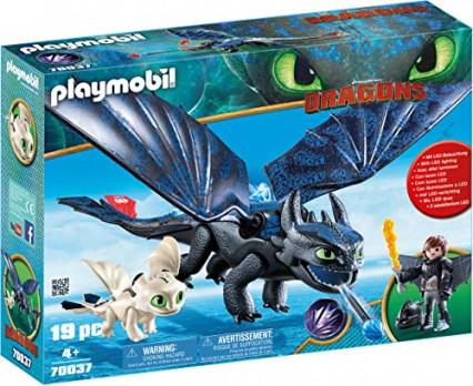Les Playmobil Dragons avec Krokmou, en avant les histoires !