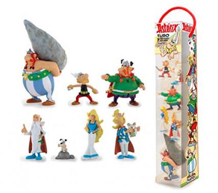 Les figurines des habitants du village d'Astérix, par Plastoy