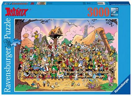 Le puzzle de la photo de groupe du village, 3000 pièces de chez Ravensburger