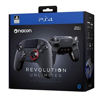 La manette Nacon Gaming Revolution Unlimited Pro pour PC et PS4