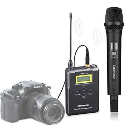 Le Saramonic UwMic 15A, pour appareil photo et caméra